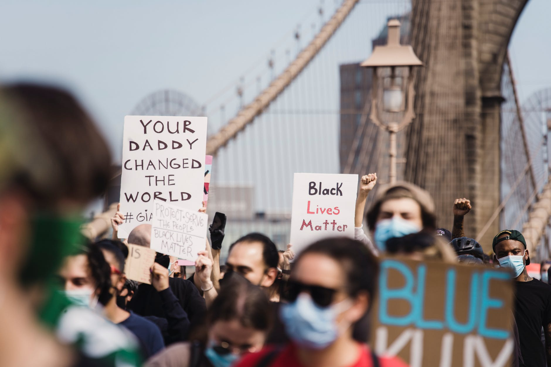 Joining the dots: COVID, Men and Black Lives Matter