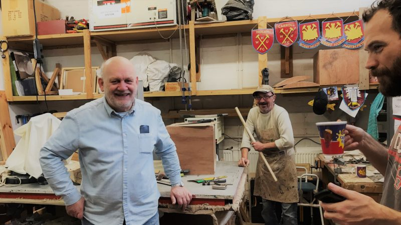 Crisis management: UK Men's Sheds Association