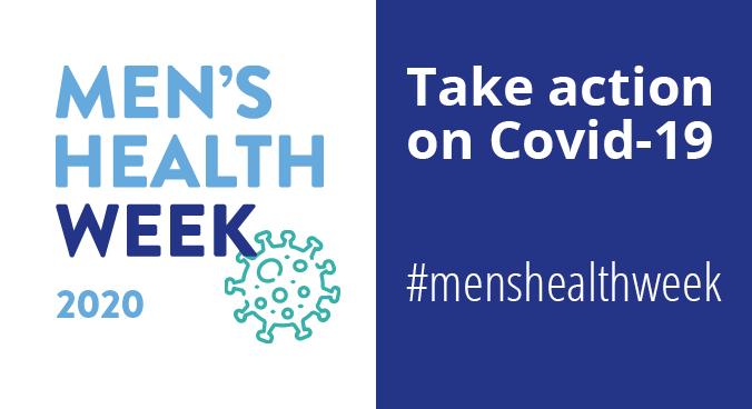 Men's Health Week turns spotlight on COVID-19
